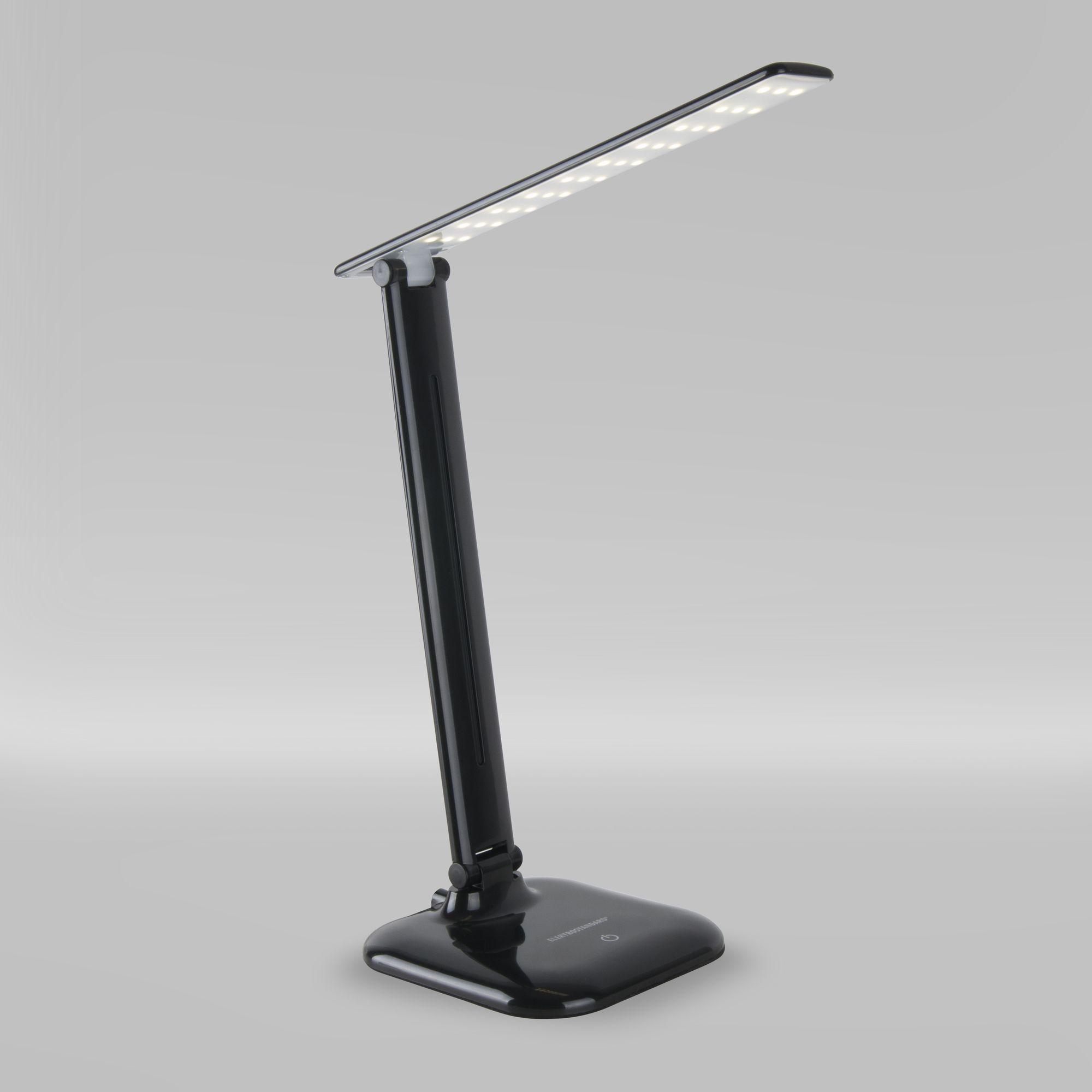 Настольный светодиодный светильник Alcor черный TL90200